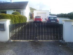 Iron Gate Frame